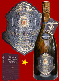 photo Herbert Beaufort Champagne Brut Grand Cru Cuvee la Favorite